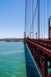 San Francisco's Golden Gate vanishing point. Vanishing point view of the Golden Gate Stock Image