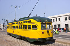 San Francisco's Historic Street Cars Royalty Free Stock Photo