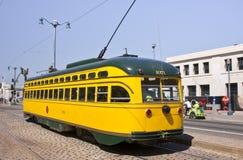 San Francisco S Historic Street Cars Royalty Free Stock Photo