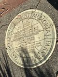 San Francisco-` s kleinster offizieller Park, genannt für ihren ersten Bürgerrechtaktivisten, 3 stockfotos