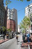 San Francisco's Market Street Royalty Free Stock Photography