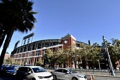 San Francisco`s AT&T Park. royalty free stock photos