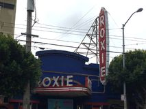 San Francisco`s Unique and Historic Roxie Theater, 2. stock photography