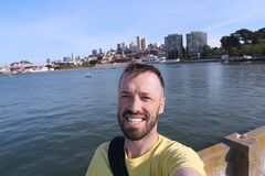 San Francisco selfie Royalty Free Stock Photography