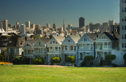 San Francisco Six Sisters Royalty Free Stock Photography