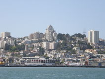 San Francisco Skyline. In San Francisco royalty free stock photos