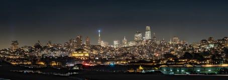 San Francisco-Skyline stockfotos