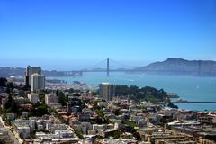 San Francisco skyline Royalty Free Stock Photography