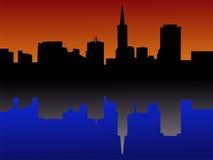 San Francisco skyline Stock Image