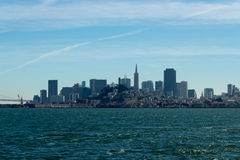 San Francisco Skyline Royalty Free Stock Photos