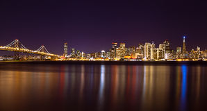 San Francisco Skyline Stockbild