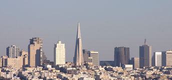 San Francisco skyline Royalty Free Stock Images