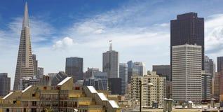 San Francisco Skyline Fotografía de archivo libre de regalías