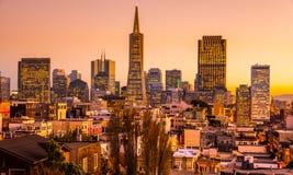 San Francisco-Skyline Lizenzfreies Stockfoto