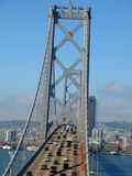 San Francisco skyline. Bay bridge in San Francisco Stock Images