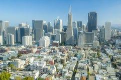 San Francisco-Skyline Lizenzfreie Stockfotos