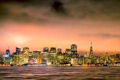 San Francisco-Skyline Lizenzfreie Stockbilder