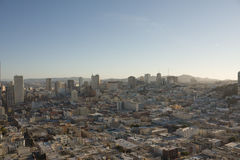San Francisco skyline from above Stock Photography
