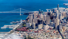 San Francisco Skyline Royalty Free Stock Photography