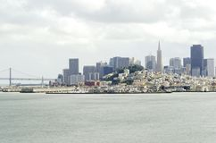 San Francisco Skyline, Califórnia Foto de Stock