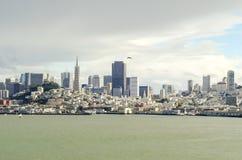 San Francisco Skyline, Califórnia Fotografia de Stock