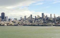 San Francisco Skyline, Califórnia Fotos de Stock Royalty Free