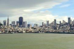 San Francisco Skyline, Califórnia Foto de Stock Royalty Free