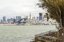 San Francisco Skyline, Califórnia Fotos de Stock