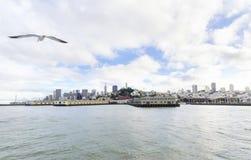 San Francisco Skyline, Califórnia Fotografia de Stock Royalty Free