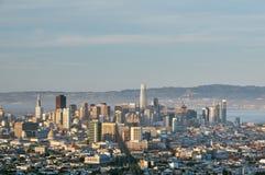 San Francisco Skyline, California immagini stock
