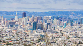 San francisco skyline Stock Image
