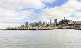 San Francisco skyline, California Royalty Free Stock Photo