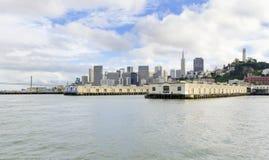 San Francisco skyline, California Stock Photography