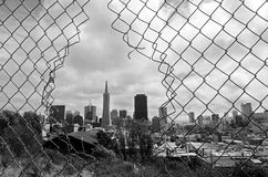 San Francisco skyline - California USA Royalty Free Stock Photos