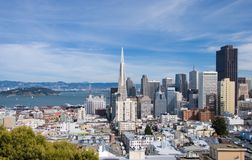 San Francisco skyline by day Royalty Free Stock Image