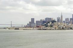 San Francisco Skyline, Kalifornien Stockfotos