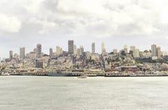 San Francisco Skyline, Kalifornien Fotografering för Bildbyråer