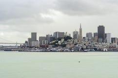 San Francisco Skyline, Kalifornien Stockbilder