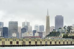 San Francisco Skyline, Kalifornien Stockfoto