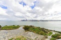 San Francisco Skyline, Kalifornien Royaltyfria Bilder