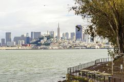 San Francisco Skyline, Kalifornien Stockfotos