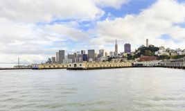 San Francisco Skyline, Kalifornien Lizenzfreies Stockfoto