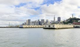 San Francisco Skyline, Kalifornien Stockfotografie