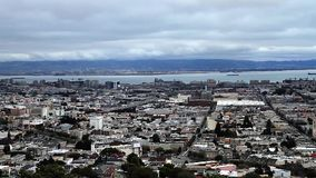 San Francisco Skyline, Pan (Cities) Royalty Free Stock Photography