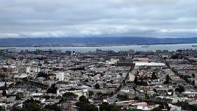 San Francisco Skyline, Pan (Städte) stock footage