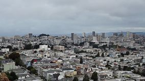 San Francisco Skyline, Pan (Städte) stock video