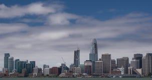 San Francisco New Skyline stock video footage