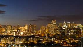 San Francisco skyline from South of Market Stock Images