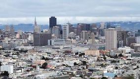 San Francisco Skyline, summen heraus laut (Städte) stock video