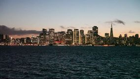 San Francisco Skyline at Twilight Royalty Free Stock Photography